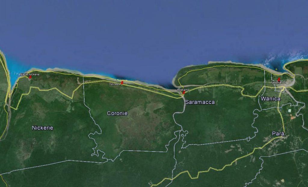 2015-08-27 Paramaribo - Nieuw Nickerie
