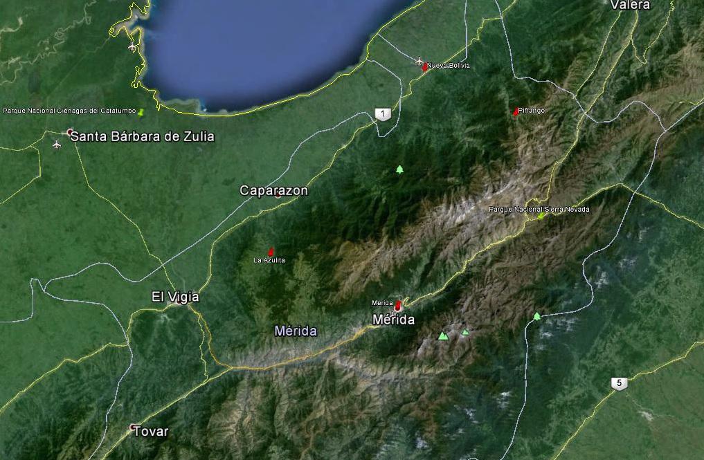 2015-10-11 Merida - Pico del Aguila - Merida