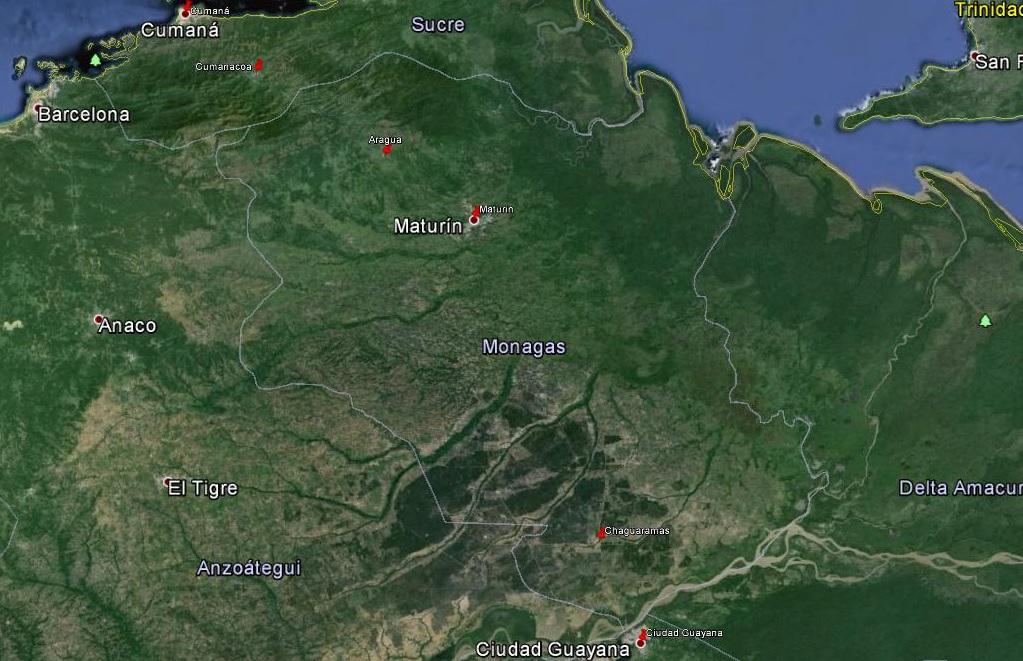 2015-11-04 Cumaná - Ciudad Guayana