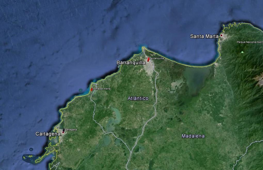 2016-01-11 Cartagena - Barranquilla