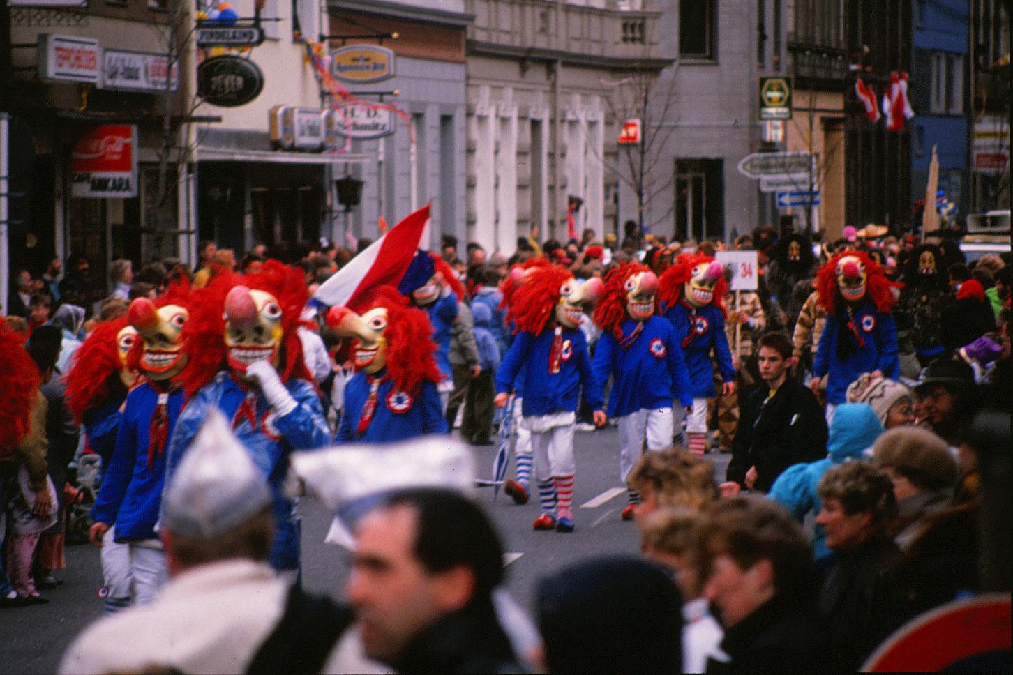 Größte Karnevalsumzüge Deutschlands